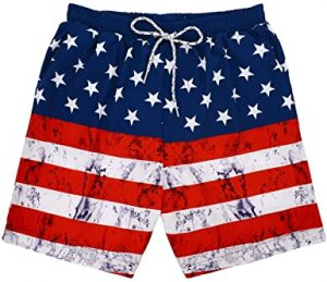 American Swimming Trunks