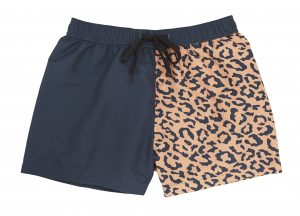 Animal Print Swimming Trunks