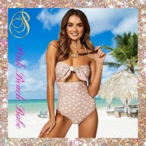 Bandeau One-Piece Swimsuits