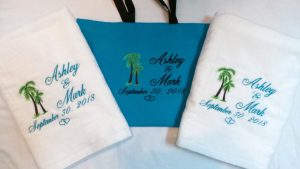Beach Towels Wedding Favors