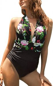 Black One Piece Swimsuits Amazon
