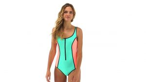 Body Glove One Piece Swimsuits Zipper