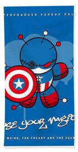 Captain America Beach Towels