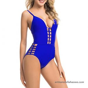 Cobalt Blue One Piece Swimsuits