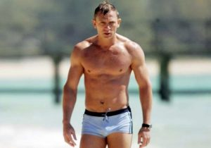 Daniel Craig Swimming Trunks