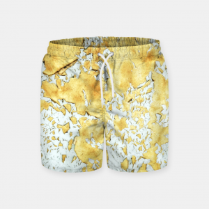 Gold Swimming Trunks