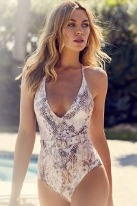 Halter Neck One Piece Swimsuits