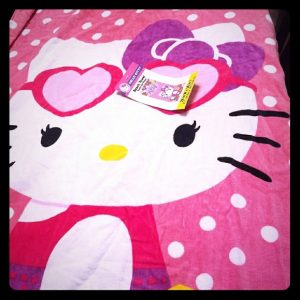 Hello Kitty Beach Towels