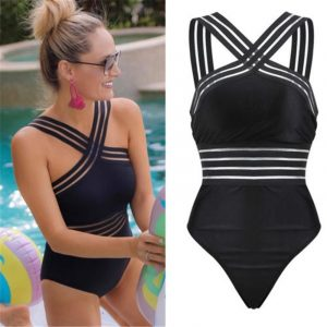 High Neck High Back Swimsuits