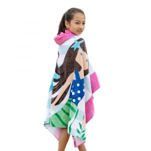 Kids Hooded Beach Towels
