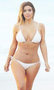 Kim Kardashian One Piece Swimsuits