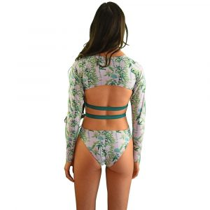 Long Sleeve Zip Up Swimsuits