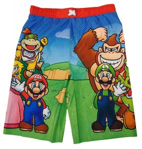 Mario Swimming Trunks