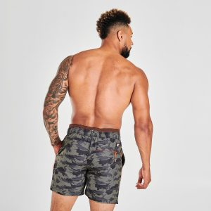 Max 4 Camo Swimming Trunks