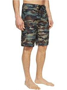 Mens Camo Swimming Trunks