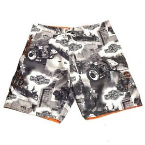 Mens Harley Davidson Swimming Trunks