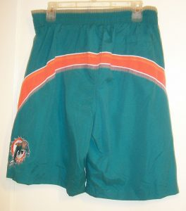 Miami Dolphins Swimming Trunks
