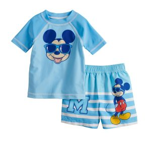 Mickey Mouse Swimming Trunks