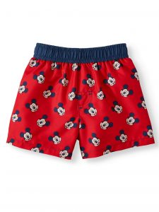 Mickey Mouse Swimming Trunks For Babies