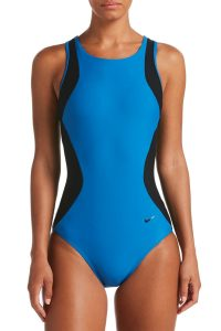 Nike Black One Piece Swimsuits
