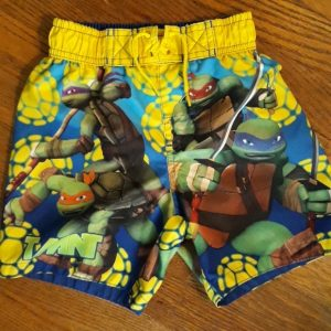 Ninja Turtles Swimming Trunks