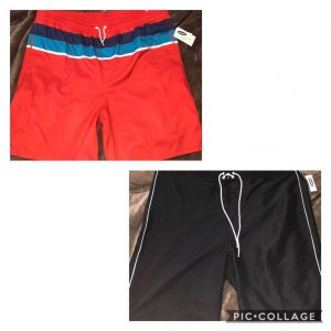 Old Navy Mens Swimming Trunks
