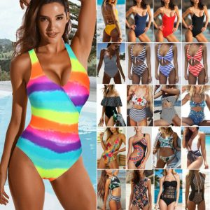 One Piece Swimsuits With Push Up…
