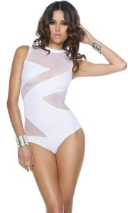 One Piece Swimsuits With Zipper
