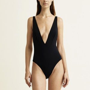 One Piece Tie Back Swimsuits