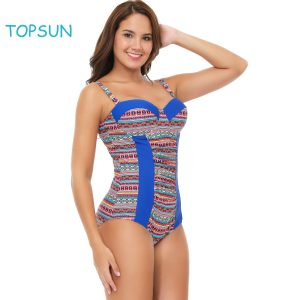 Padded Push Up One Piece Swimsuits