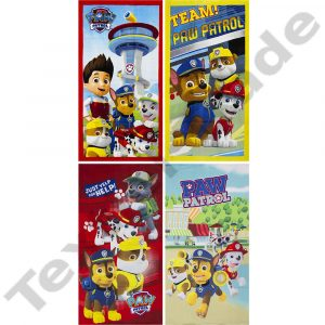Paw Patrol Beach Towels