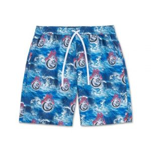 Pink Dolphin Swimming Trunks