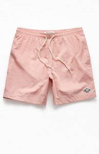 Pink Swimming Trunks