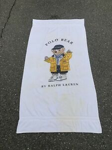 Polo Bear Beach Towels