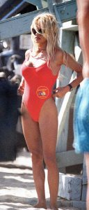 Red One Piece Swimsuits Baywatch
