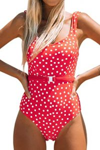 Red One Piece Swimsuits Cheap