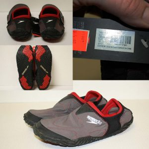 Red Swim Shoes