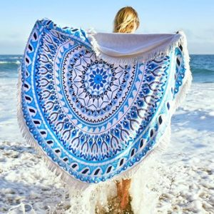 Round Beach Towels Wholesale