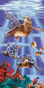Sea Turtle Beach Towels