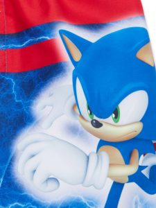 Sonic The Hedgehog Swimming Trunks