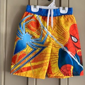 Spiderman Swimming Trunks