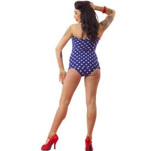 Stars And Stripes One Piece Swimsuits