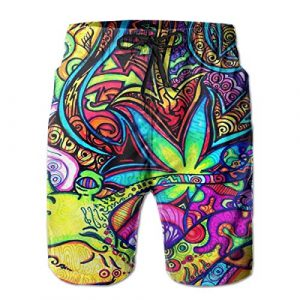 Weed Swimming Trunks