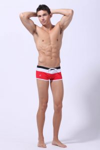 Why Do Swimming Trunks Have A…