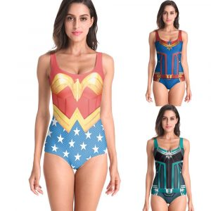 Wonder Woman Swimsuits For Girls