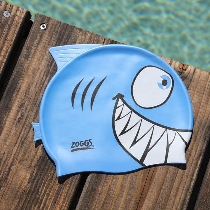 shark swimming cap
